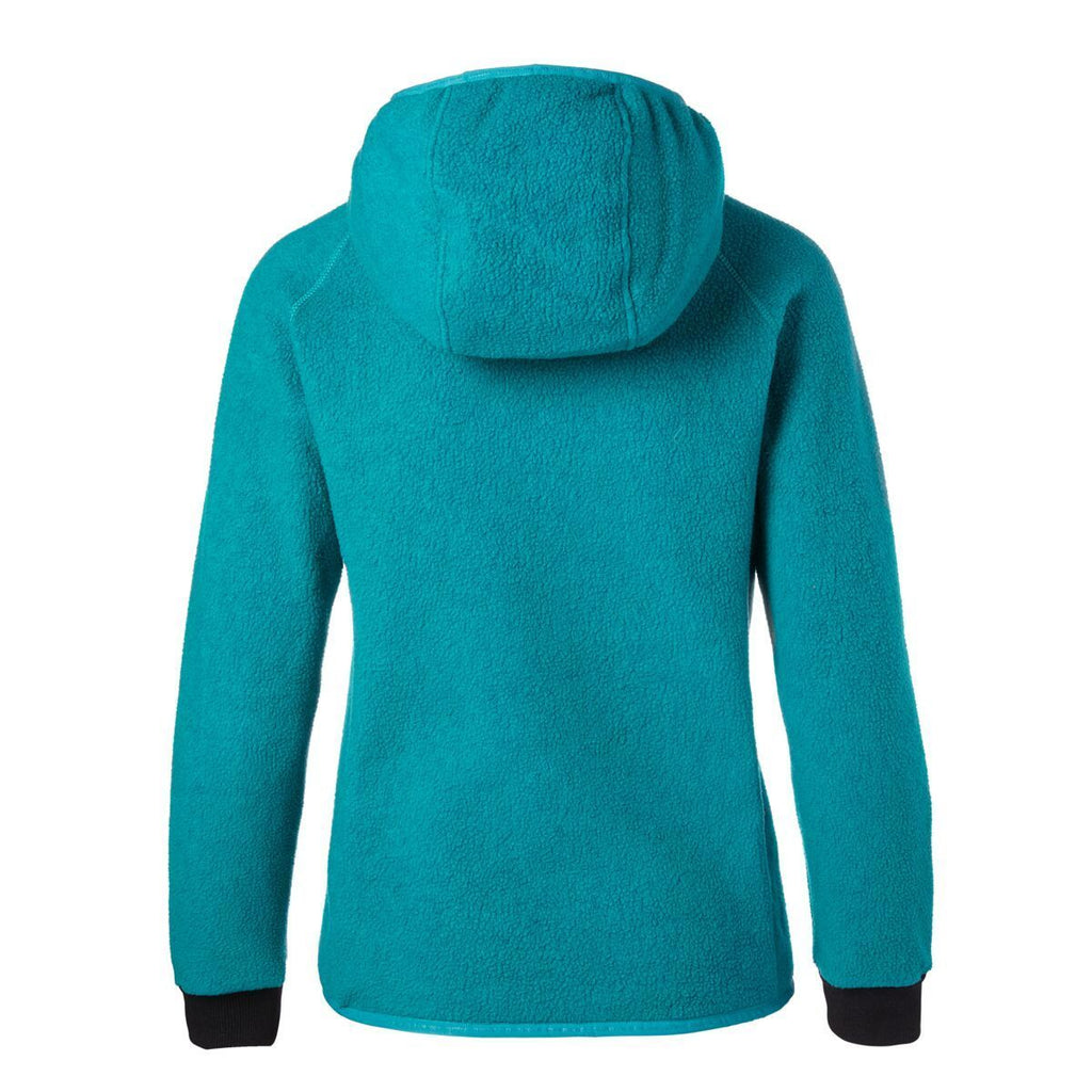 Cubre Full-Zip Fleece Jacket - Women's,  Evergreen, Back