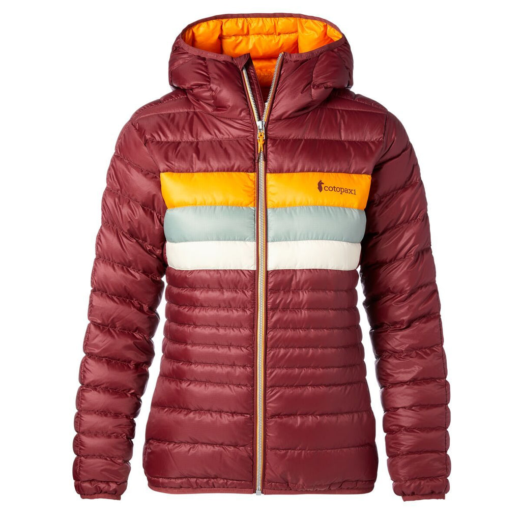 Fuego Down Jacket - Women's, Port, Front