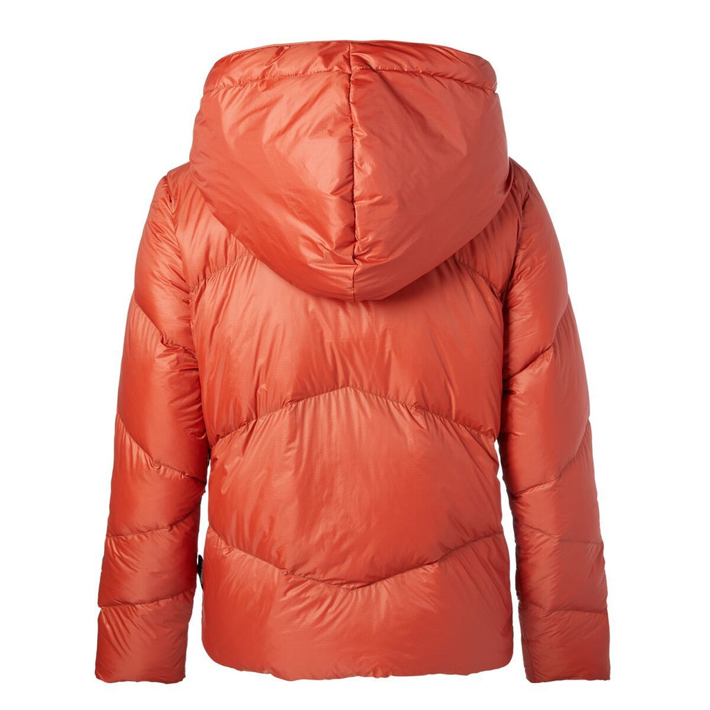 Nina Crop Down Jacket - Women's, Red Rock, Back