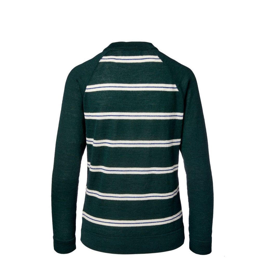 Libre Midweight Sweater - Unisex, Evergreen, Back
