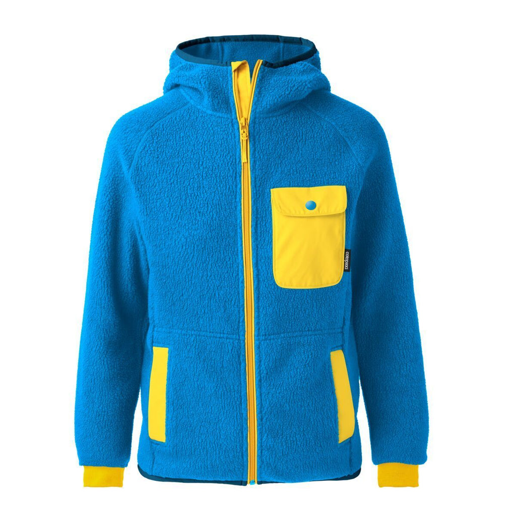 Cubre Full-Zip Fleece Jacket - Men's, Sea Blue/Marigold, Front