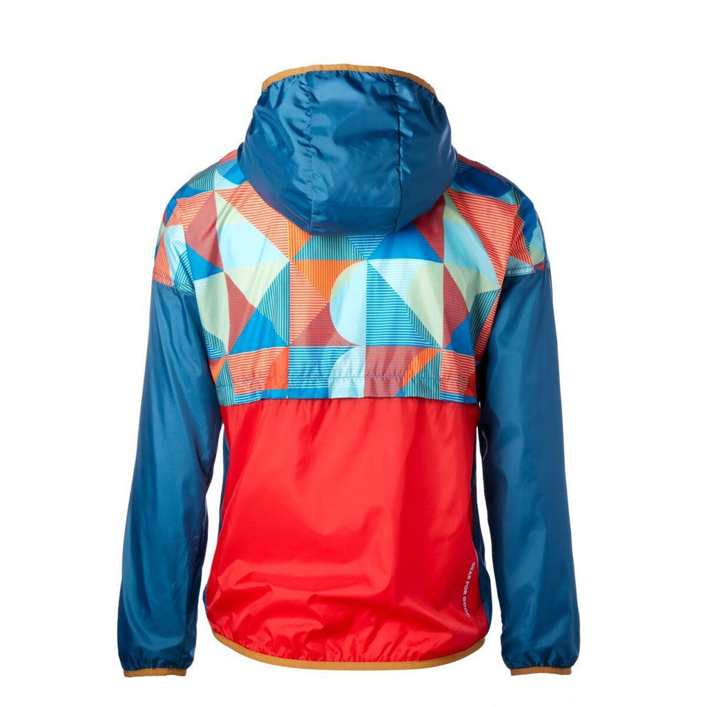 Teca Patterned Full-Zip Windbreaker - Unisex