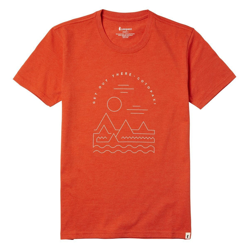 Get Out There Landscape T-Shirt - Women's