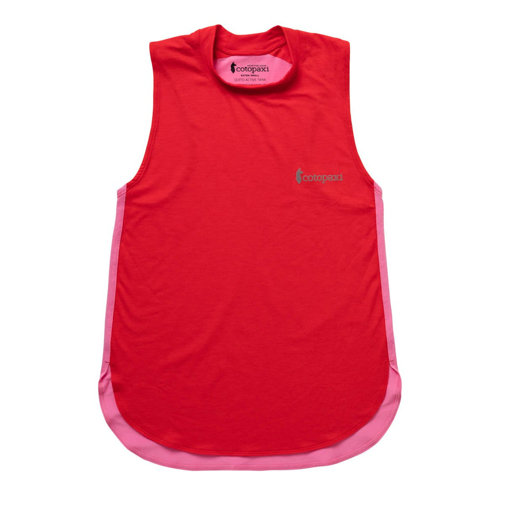 Quito Active Tank - Women's, Fiery Red/Bubble Gum, Front