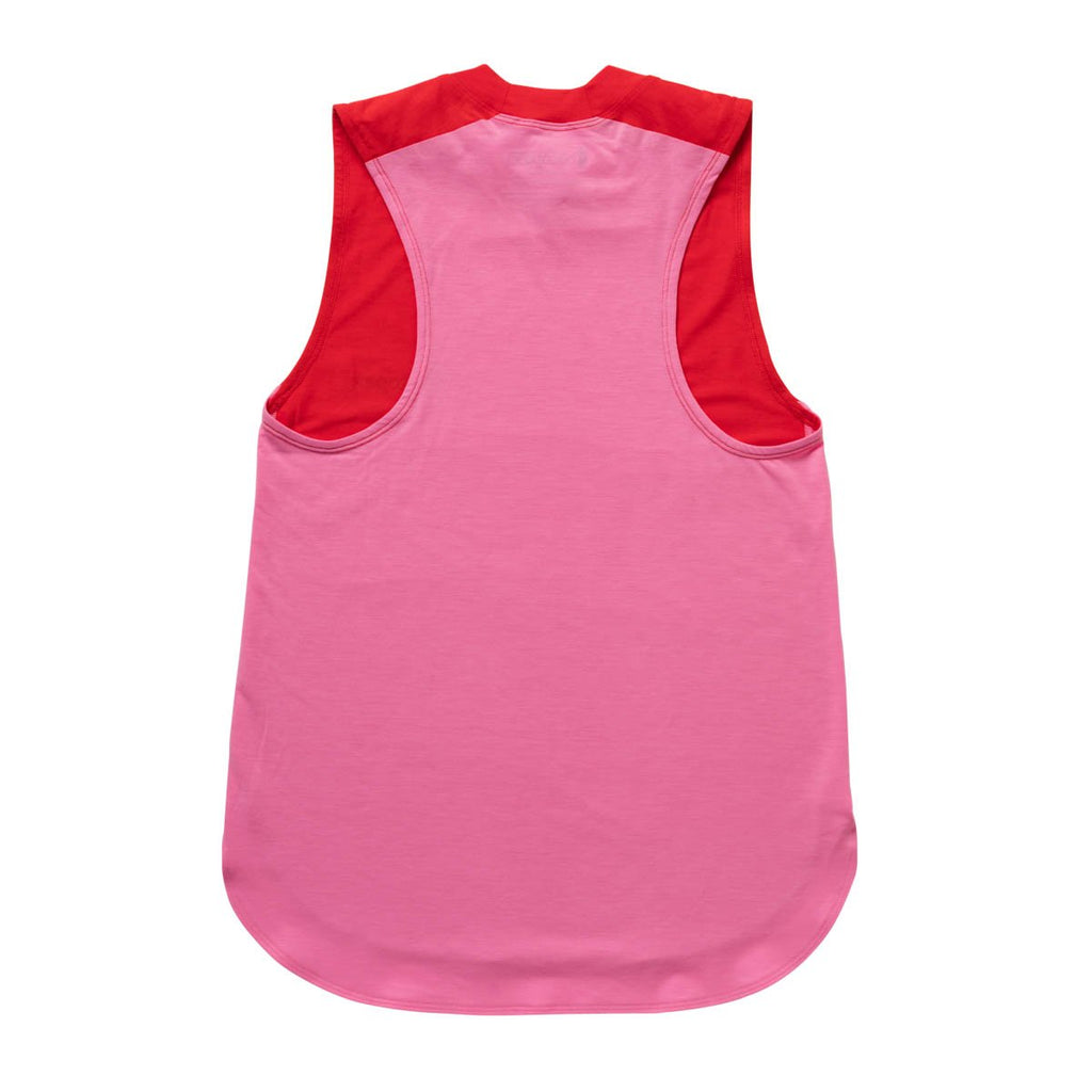 Quito Active Tank - Women's, Fiery Red/Bubble Gum, Back