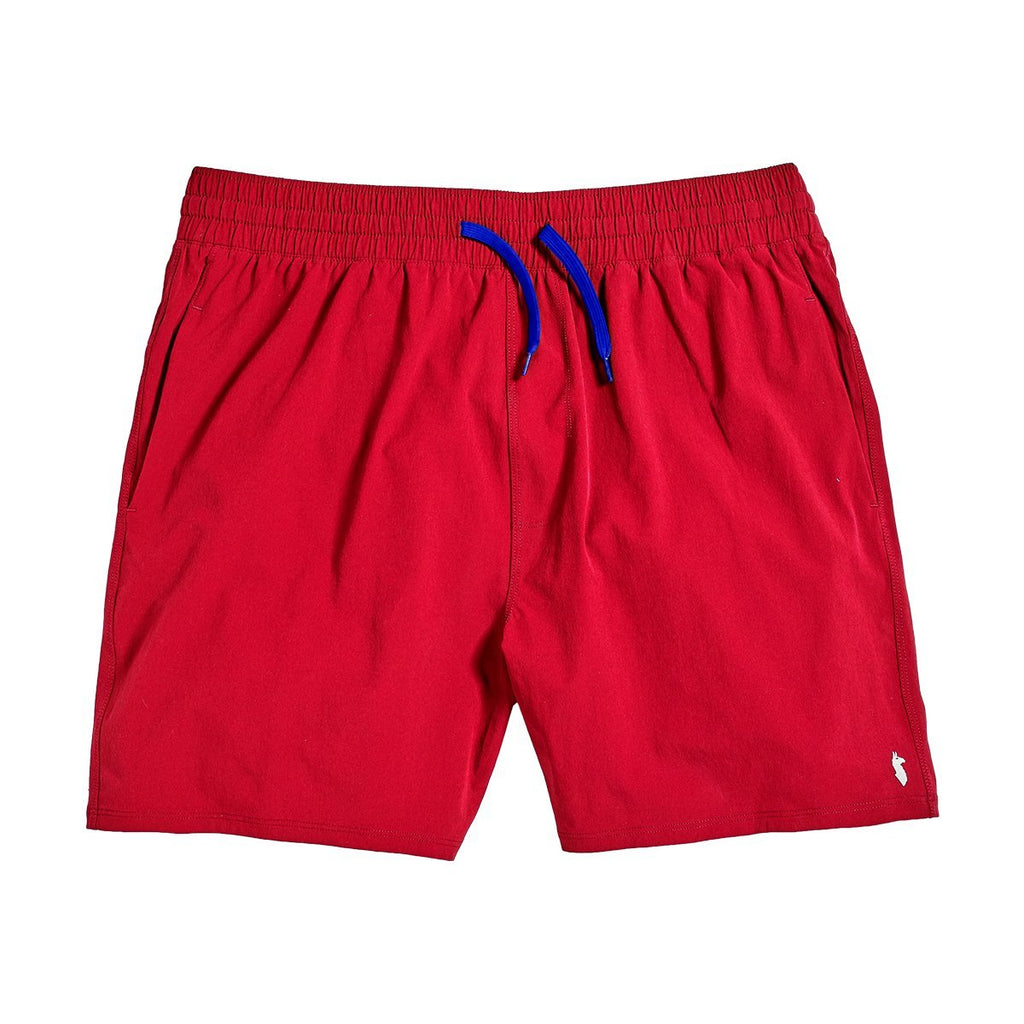 Tola Swim Shorts, Racing Red, Front