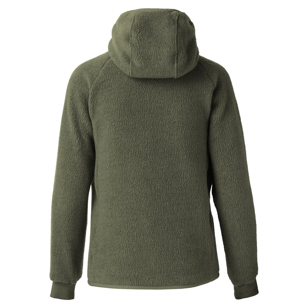 Cubre Full-Zip Fleece Jacket - Women's, Cargo/Aqua, Back