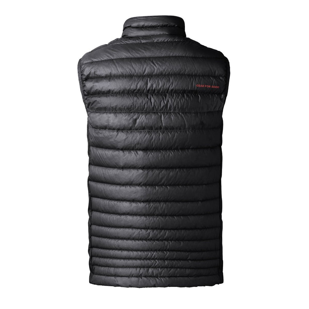 Fuego LT Down Vest - Men's - Sale, Raven, Back
