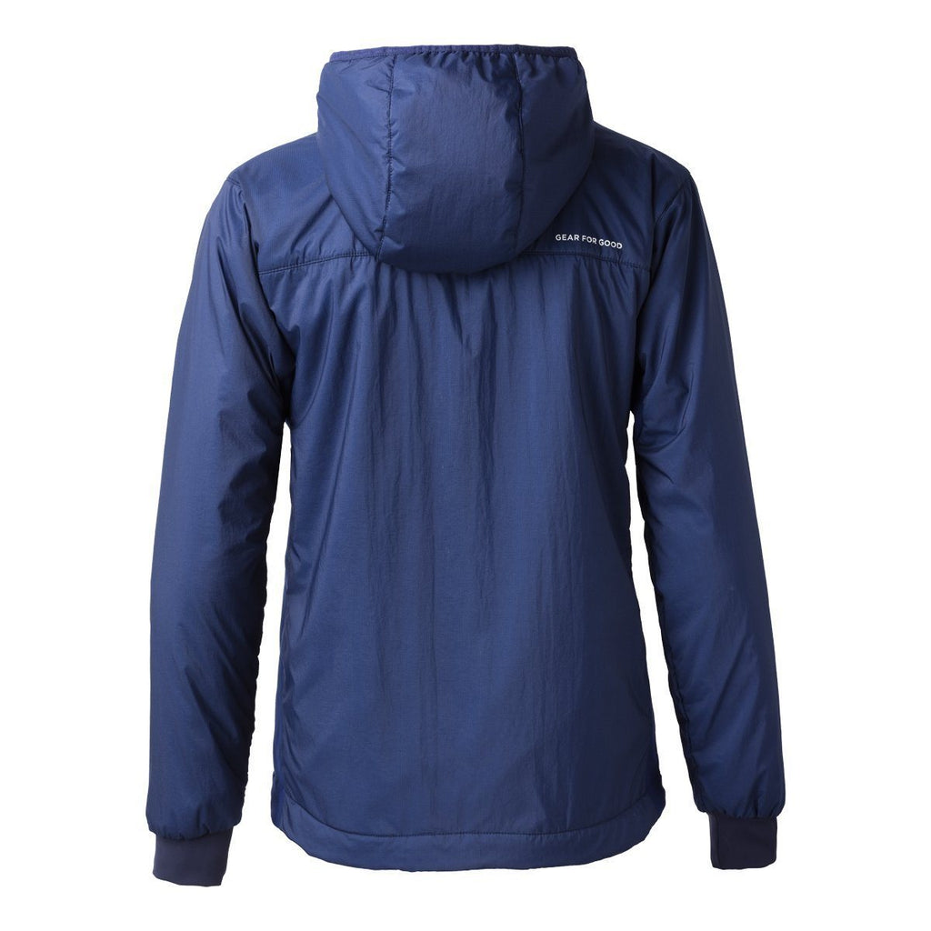 Pacaya Hooded Insulated Jacket - Women's - Sale, Admiral, Back