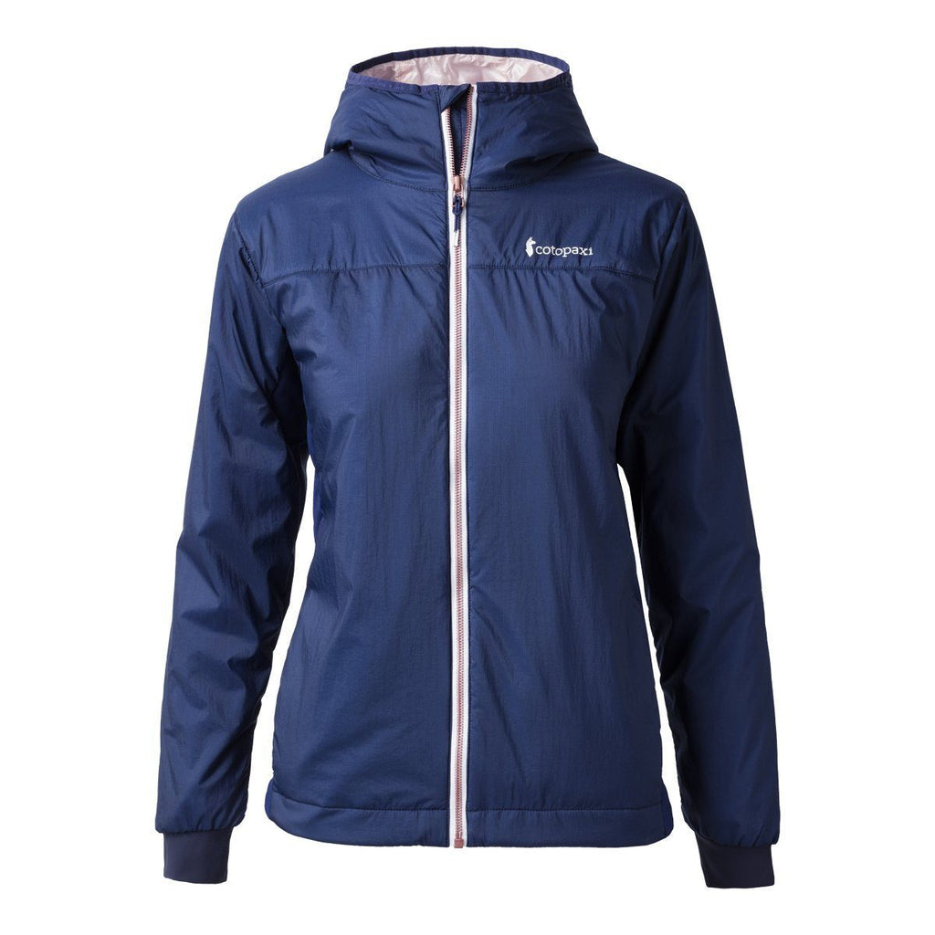 Pacaya Hooded Insulated Jacket - Women's - Sale, Admiral, Front