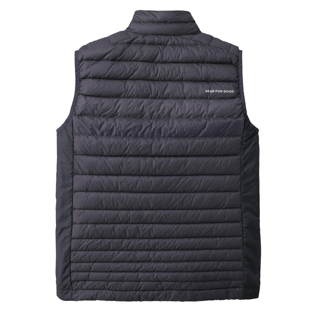 Fuego LT Down Vest - Men's - Sale, Graphite, Back