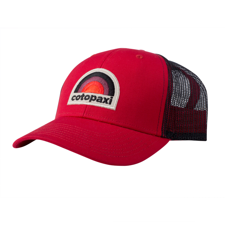 3fa4ae4588619 Cotopaxi Sunset Trucker Hat