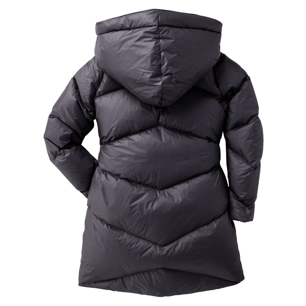 Nina Down Parka - Women's, Graphite, Back