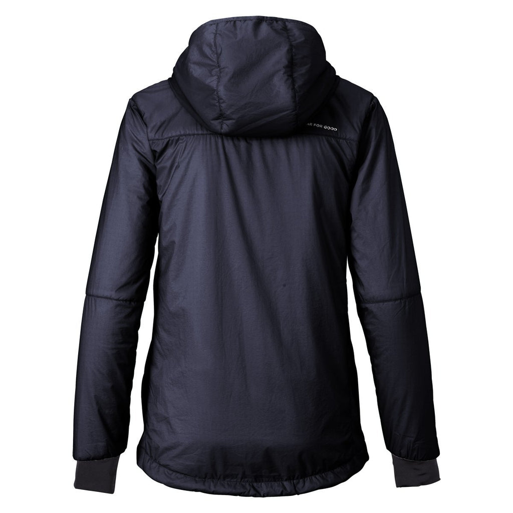 Pacaya Hooded Insulated Jacket - Women's - Sale, Graphite, Back