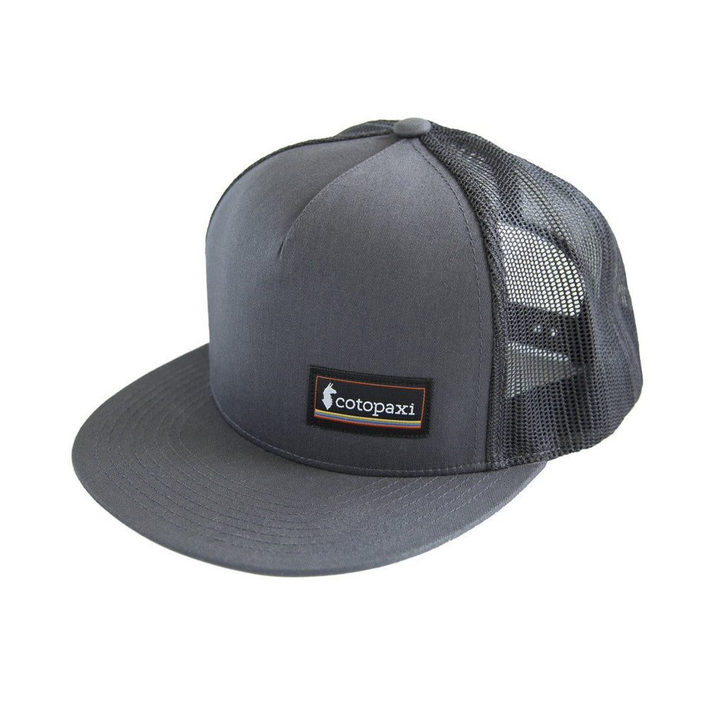 Cotopaxi - Classic Trucker Hat - Charcoal