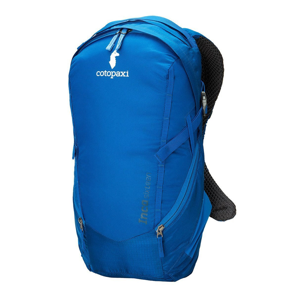 Inca 16L Backpack, Classic Blue, Front