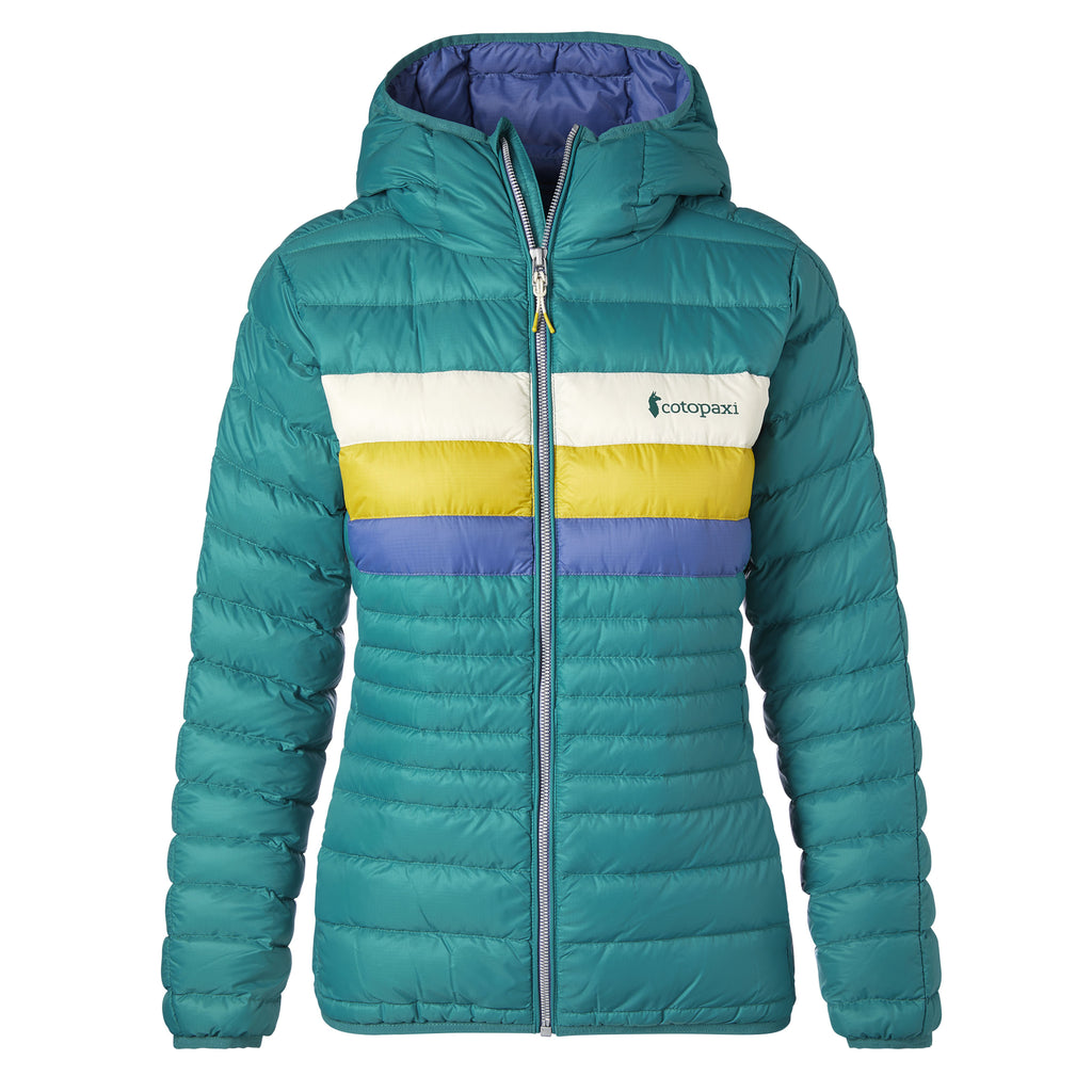 Fuego Down Jacket - Women's, Evergreen, Front