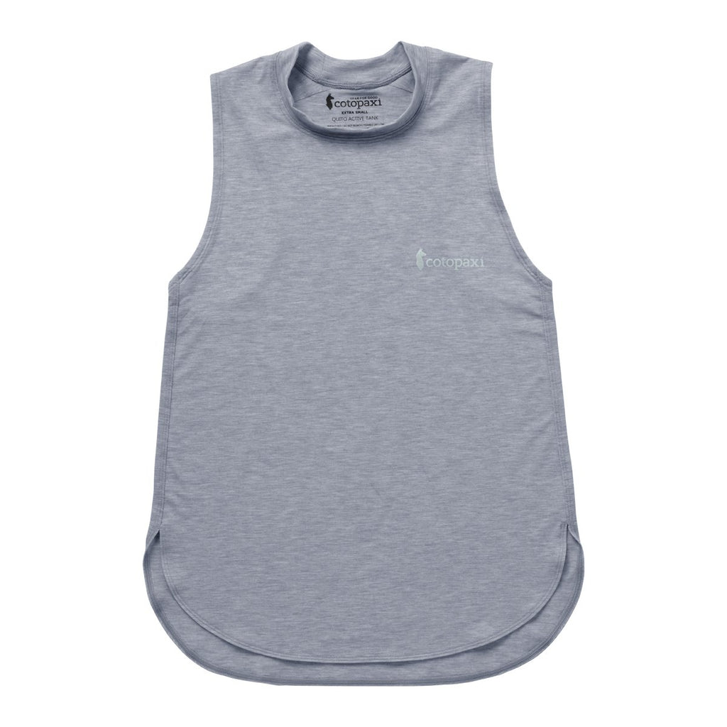 Quito Active Tank - Women's, Heather Grey, Front
