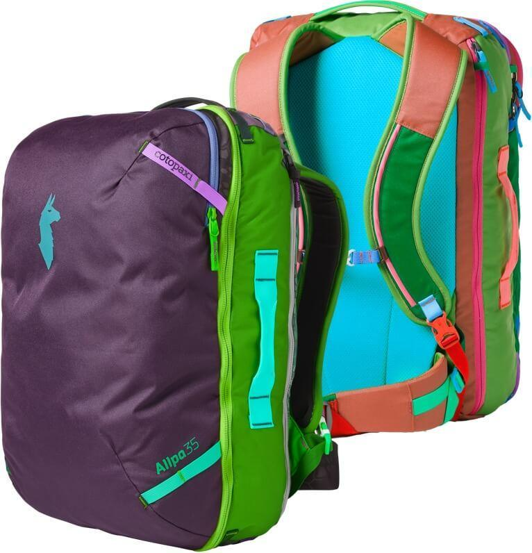 Allpa 35L Travel Pack - Del Dia Featured Front and Back