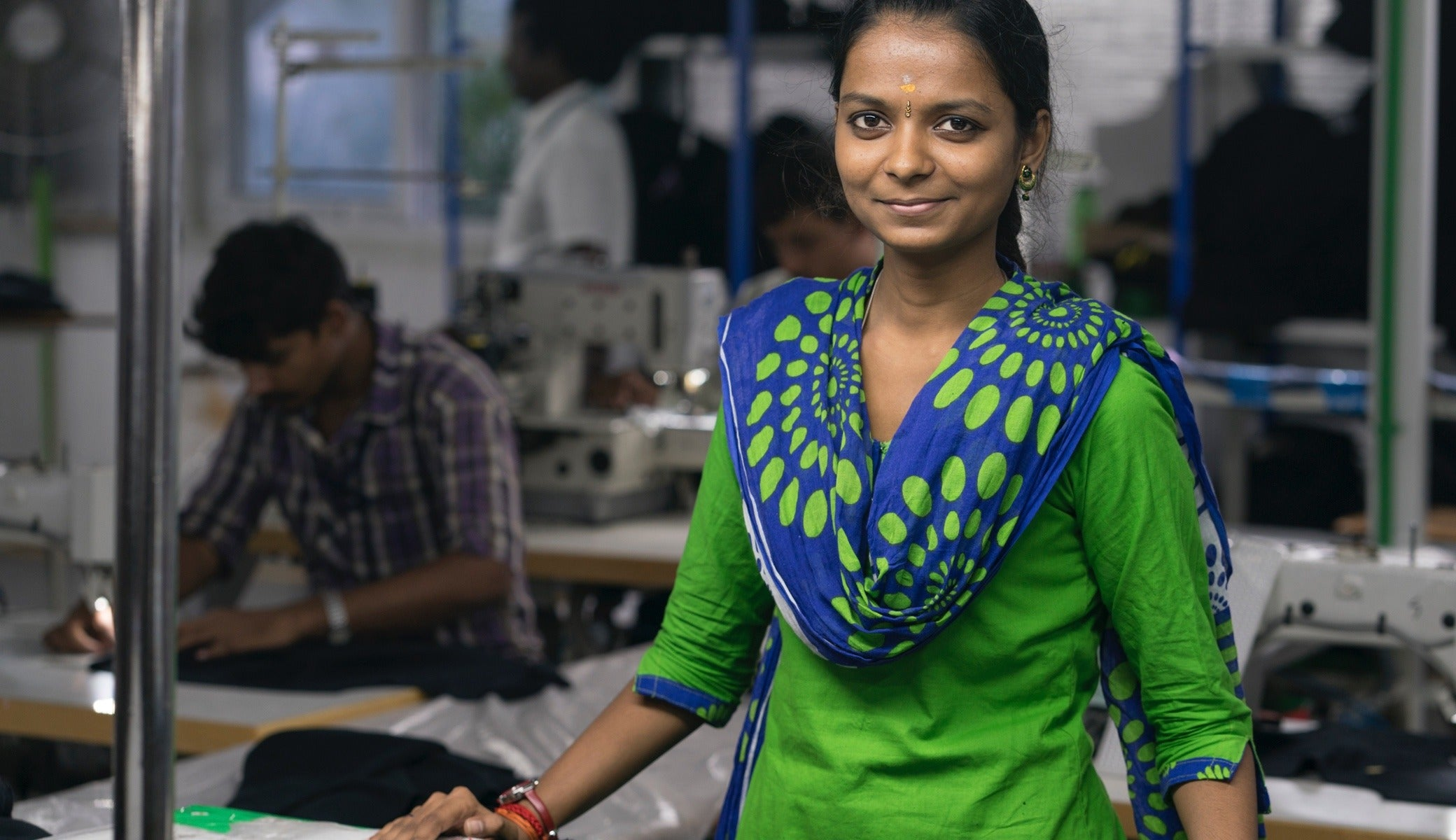 Saravana Priya started working at this Fair Trade Certified™  factory in late 2017.