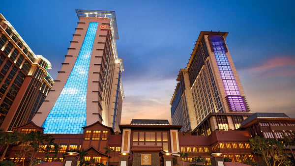 Step into the Sheraton Grand Hotel, Macao