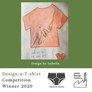 EXCLUSIVE Competition Winner Fine Organic Tee - KIDS