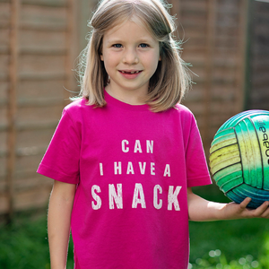Can I Have A Snack Organic Tee - KIDS