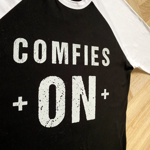 Comfies On 3/4 Length-Sleeve Top