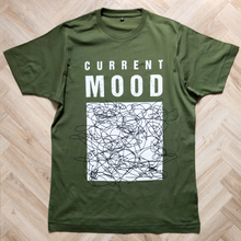 Load image into Gallery viewer, Current Mood Dusky Green Men's Organic Tee