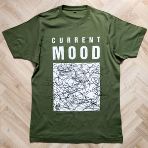 Current Mood Dusky Green Organic Tee