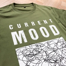 Load image into Gallery viewer, Current Mood Dusky Green Organic Tee