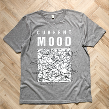 Load image into Gallery viewer, Current Mood Grey Marl Organic Tee - UNISEX