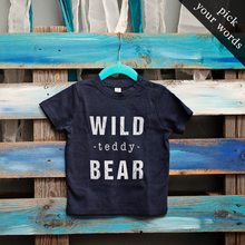 Load image into Gallery viewer, Custom Baby/Toddler Tee (pick your own wording!)