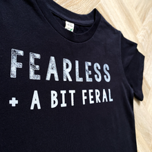Load image into Gallery viewer, Fearless + Feral Organic Tee - Kids
