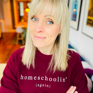 Homeschoolin' (again) Organic Sweatshirt