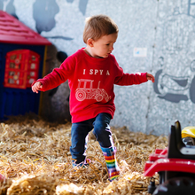Load image into Gallery viewer, I Spy a Tractor Organic Sweatshirt - KIDS