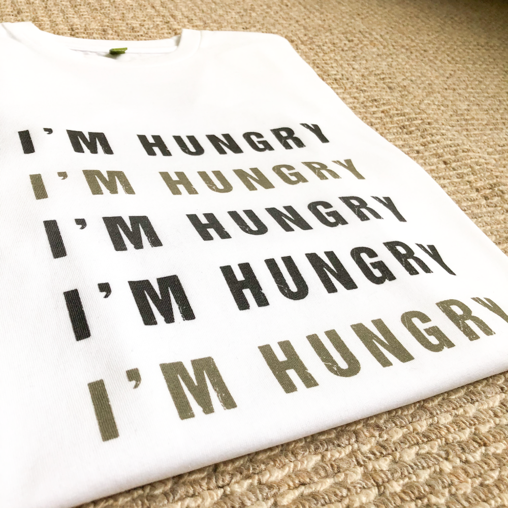 I'm Hungry Organic Tee - KIDS