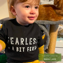 Load image into Gallery viewer, Fearless + Feral Organic Tee - BABY/TODDLER