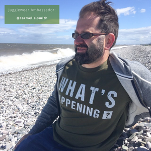 What's Happening Organic Moss Green Tee - MEN