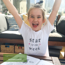 Load image into Gallery viewer, Star of the Week Organic Tee - KIDS