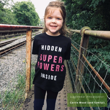 Load image into Gallery viewer, Hidden Super Powers Organic Kids Tee