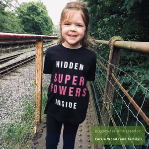 Hidden Super Powers Organic Kids Tee