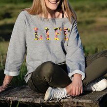 Load image into Gallery viewer, Life Colour-Pop Camo Slouchy Organic Sweatshirt