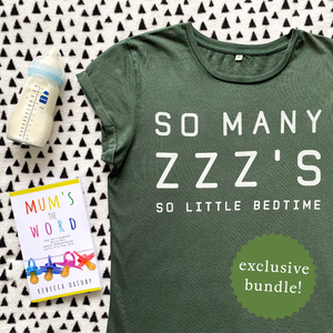 EXCLUSIVE So Many ZZZ's meets Mums the Word Book Bundle!