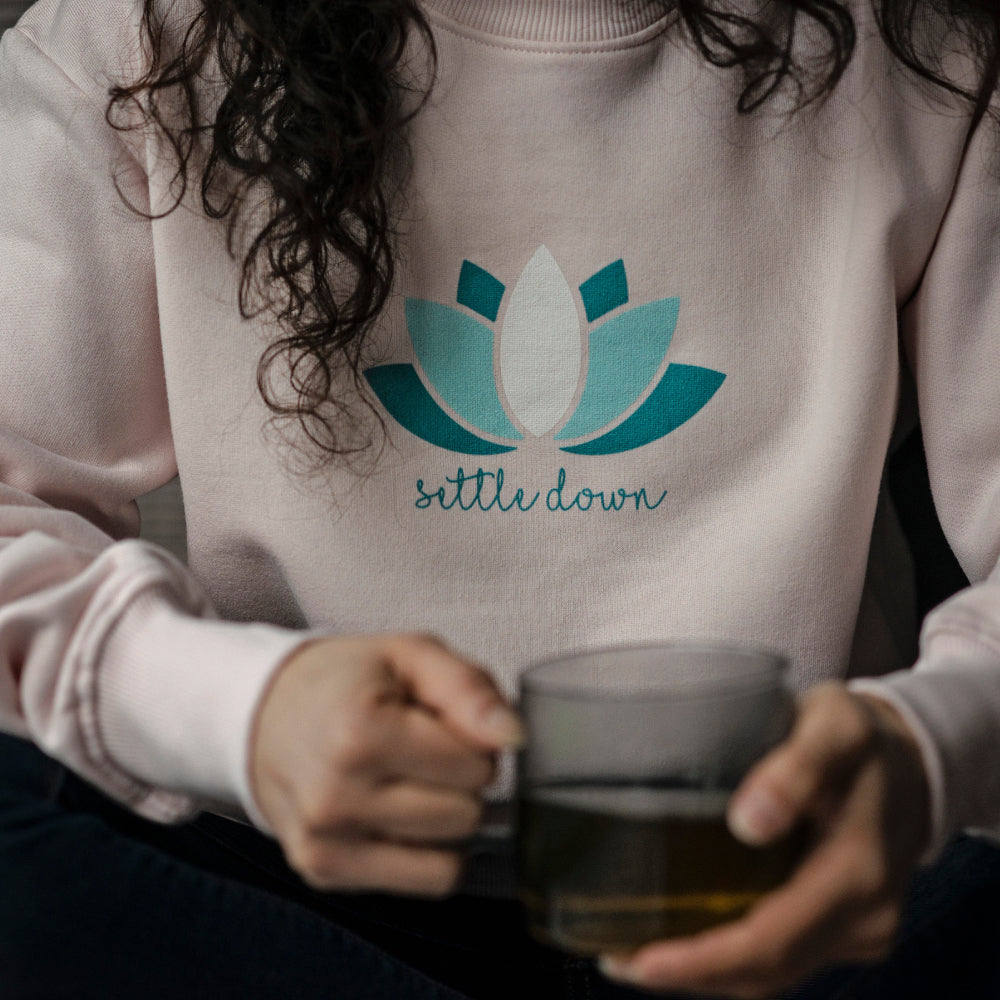 Lotus Settle Down Organic Sweatshirt