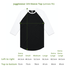 Load image into Gallery viewer, Comfies On 3/4 Length-Sleeve Top