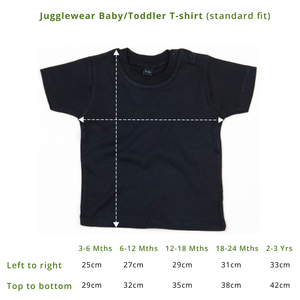 Custom Baby/Toddler Tee (pick your own wording!)