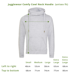 Low Intensity Mode Comfy Cowl Hoodie