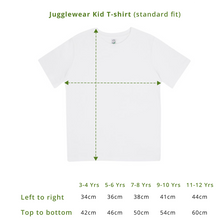 Load image into Gallery viewer, Custom Organic Star Design Tee (pick your own wording!) - KIDS