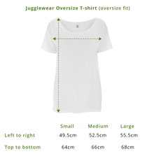 Load image into Gallery viewer, Overwhelm White Oversize Tee